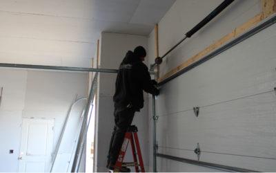 How Snow & Ice Can Damage Your Garage Door